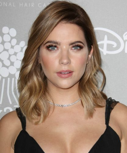 Ashley Benson looks -seriously- great as a brunette