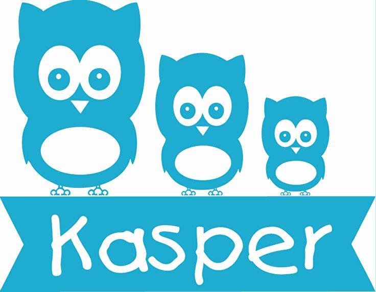 Geboortesticker type Kasper
