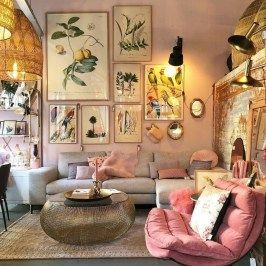Amazing Boho Living Room Décor Ideas On A Budget …