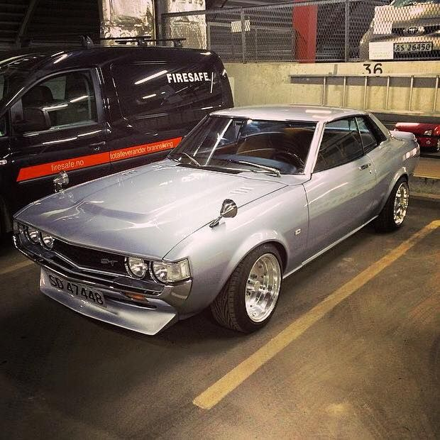 Toyota Celica Coupe Hatchback To: 1st Gen Toyota Celica