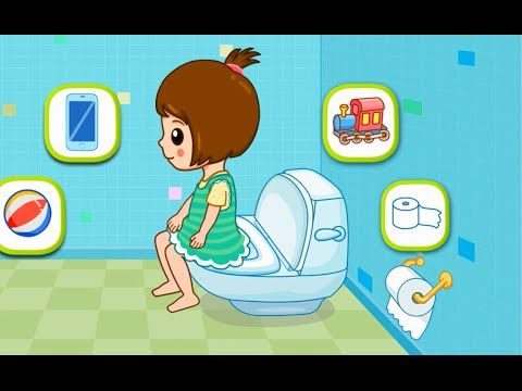 Töpfchen Training. Kinder Toilettentraining. Säuglinge und Kleinkinder pädagogisch - YouTube