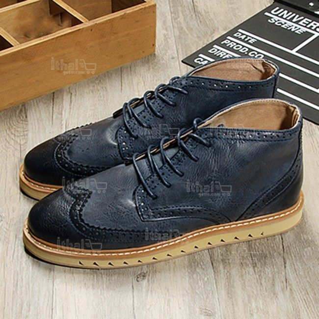 Yüksek Kaliteli Malzemelerden Üretim Moda Erkek Ayakkabı Modelleri - 571582 - 35-1
