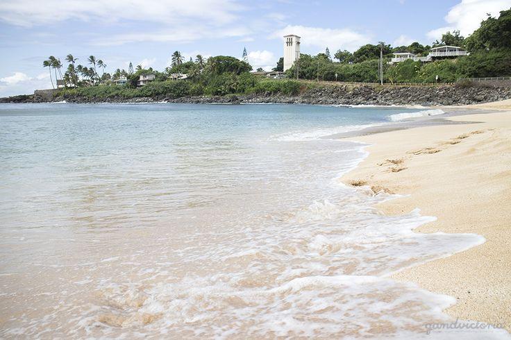 Waimea Bay on Oahu, Hawaii. | qandvictoria.wordpress.com