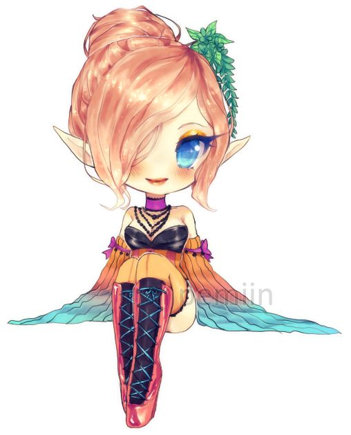Sc escadaskye 1 2 by on deviantart chibi pinterest chibi - Dessin manga kawaii ...