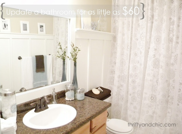 Cute Light Grey Tile Bathroom Floor Thick Good Paint For Bathroom Ceiling Flat All Glass Bathroom Mirrors Bathroom Vanities Toronto Canada Old 48 White Bathroom Vanity Cabinet PurpleBathroom Lighting Sconces Brushed Nickel 1000  Ideas About Cheap Bathroom Makeover On Pinterest | Reclaimed ..