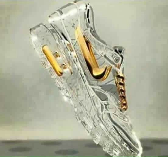 Glass Nikes | Sneakers...