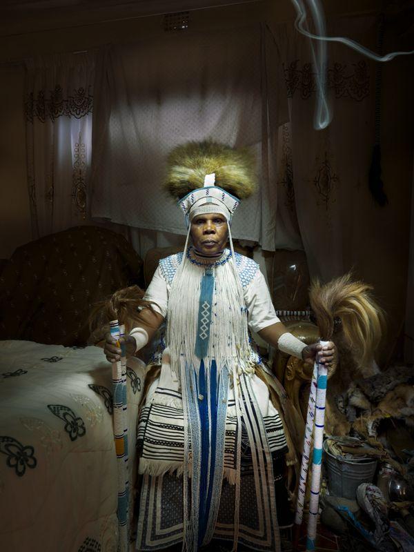 Sangoma fine-art-print traditional healer, cape town, townships, Peter Frank, photographer, Zulu, African Shamanism | Peter Frank Gallery | %description%