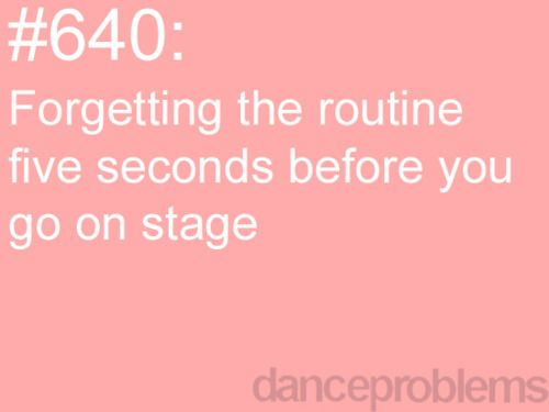 every time. but it always comes back when the music starts :)