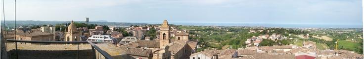 #attaccoallatorre #IvasioniDigitali: alla conquista del panorama dal Conero all'Adriatico! @InvasioniDigitali