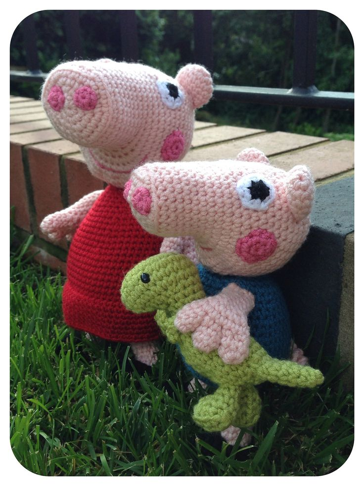Knitting Patterns Peppa Pig Toys : Ravelry: Lkm0s Peppa Pig plush amigurumi crafts Pinterest Ravelry,...