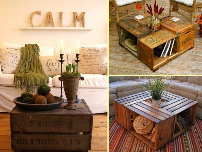80 EΠΙΠΛΑ φτιαγμένα από ξύλινα ΚΙΒΩΤΙΑ-ΚΑΦΑΣΙΑ | ΣΟΥΛΟΥΠΩΣΕ ΤΟ