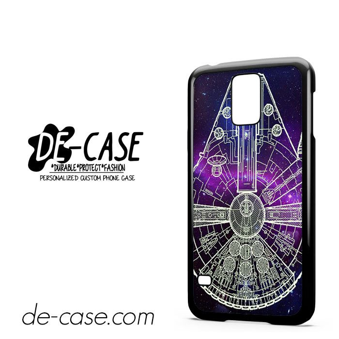Star Wars Millenium Falcon Blue Sky DEAL-10033 Samsung Phonecase Cover For Samsung Galaxy S5 / S5 Mini