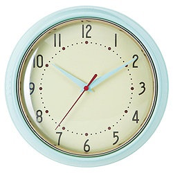 TESCO  Retro Duck Egg Clock