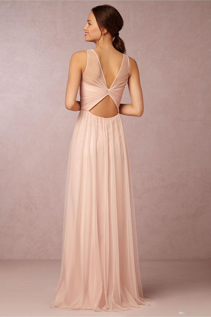 139 best chiffon bridesmaid dresses images on pinterest chiffon cheap bridesmaid dresses 2015 hot cheap crew neck tulle blush pink sheer illusion hollow back long for wedding party dress prom gowns under 100 as low as ombrellifo Gallery