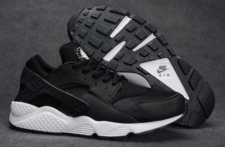 Nike Huarache Black And White Women