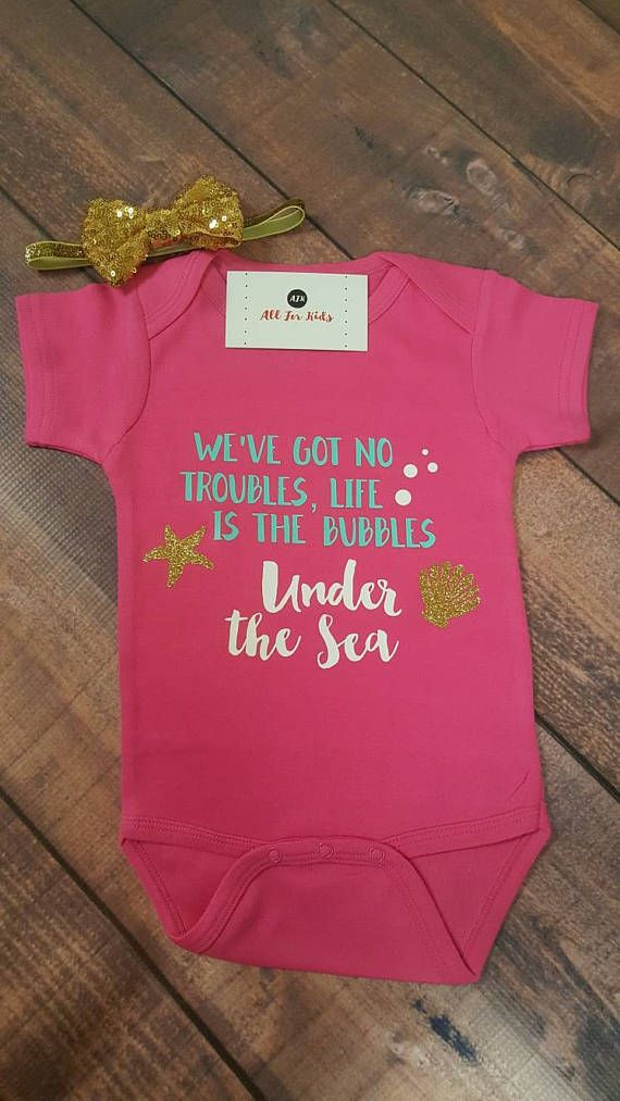 Baby Girl Clothes Disney Infant Bodysuit Life Is The Bubbles