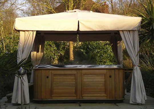 Hot Tub Canopy Gazebo | Found On Gazebo.me.uk