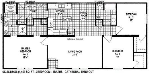 55 best images about manufactured homes on pinterest for 55 wide house plans