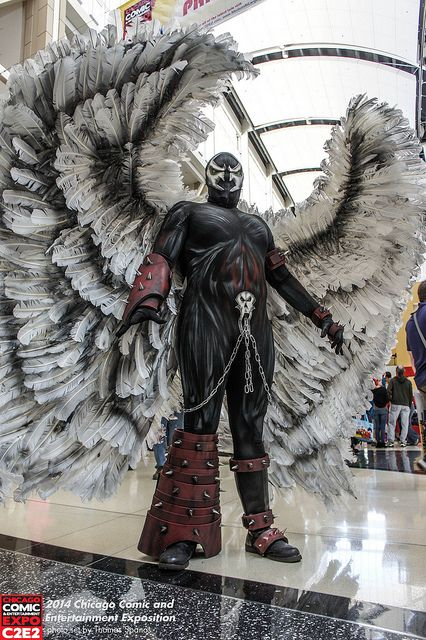 Spawn Angel - I'd like to know the feather count on those wings...