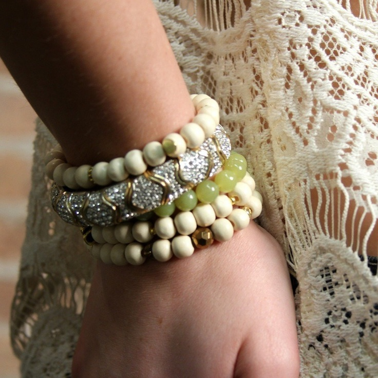 Bijouterie Charm Bracelets.... great for stacking !!