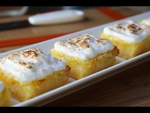 Food Wishes Video Recipes: Lemon Bars for a Lasting Mother's Day Impression