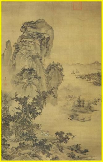 17 best ideas about chinese landscape on pinterest for Dynasty mural works