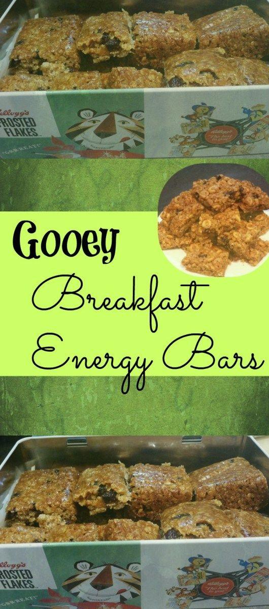 Gooey Breakfast Energy Bars