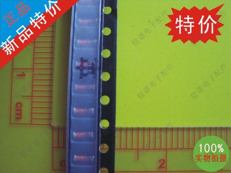 Общая стоимость и транспорт электронные компоненты диод 50 шт. шелковый черное стекло кольцо RLS4148