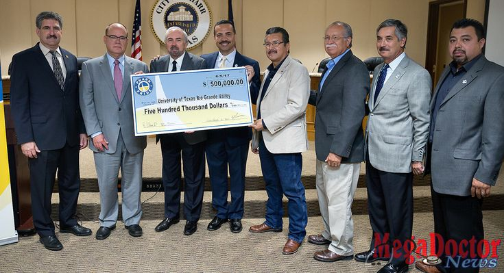 Mega Doctor News PHARR, TEXAS — JUNE 13, 2017 — The City of Pharr continued its support of The University of Texas Rio Grande Valley School of Medicine (SOM) by presenting the school with a check for $500,000 Tuesday, June 13. This is the second donation the City of Pharr has made to SOM as …