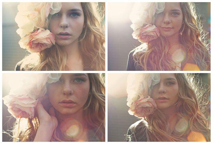 Sun-flare...feelHair Flower, Anna Sun, Bryce Photography, Senior Photography, Senior Portraits, Sun Flare, Photography Blog, Sue Bryce, Photography Ideas