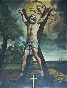 crucifiction of St. Andrew