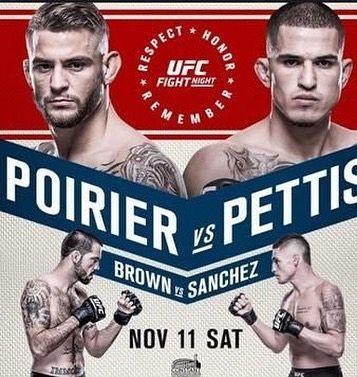 """It's #fight day #MMA fans! #UFCNorfolk goes down tonight! Check out the main card now  . .  Dustin Poirier @dustinpoirier vs. Anthony """"Showtime"""" Pettis @showtimepettis  """"The Immortal"""" Matt Brown @IAmTheImmortal  vs. Diego Sanchez @diegonightmaresanchezufc  Andrei """"The Pit Bull"""" Arlovski @AndreiArlovski vs. Junior Albini @junior.albini  Nate Marquardt @natemarquardt vs.  Cezar """"Mutante"""" Ferreira  Raphael Assunção @RaphaAssuncao vs.  Matthew Lopez @MatthewLopez135  Joe Lauzon @joelauzon vs…"""
