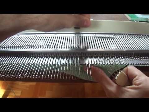 FEDE CHANA- ESCOTE REDONDO- Tejido a Maquina: Desarrollo Escote Redondo y Terminación - YouTube