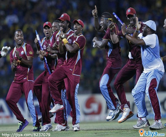 WI celebrating victory of WT20 with Gangnam Style Dance.  ♥ LIKE & Pin IT ♥  more picture @ http://ijiya.com/8237079