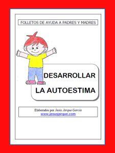 Autoestima folleto padres