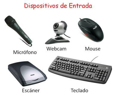 Son los que permiten la comunicación del usuario con la computadora, permiten transmitirle información. Por ejemplo: teclado, mouse, micrófono, webcam, etc.