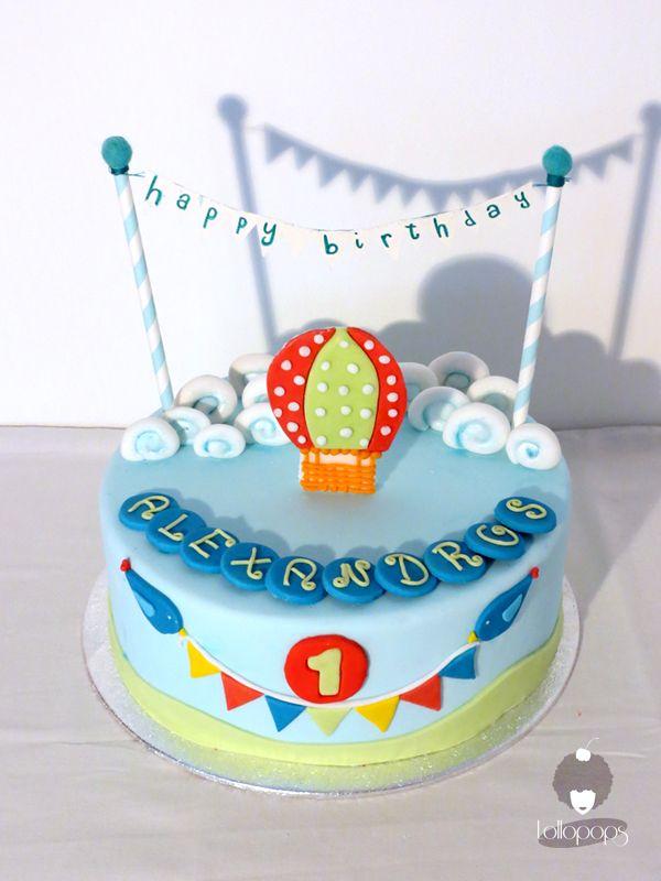 cake mongolfiera