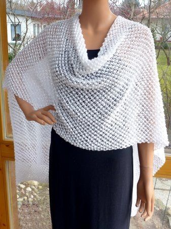 Strickanleitung Sommer-Poncho