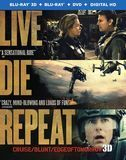 Live Die Repeat: Edge of Tomorrow [3 Discs] [Ultraviolet] [3D] [Blu-ray/DVD] [Blu-ray/Blu-ray 3D/DVD] [Eng/Fre/Spa] [2014], 1000445435