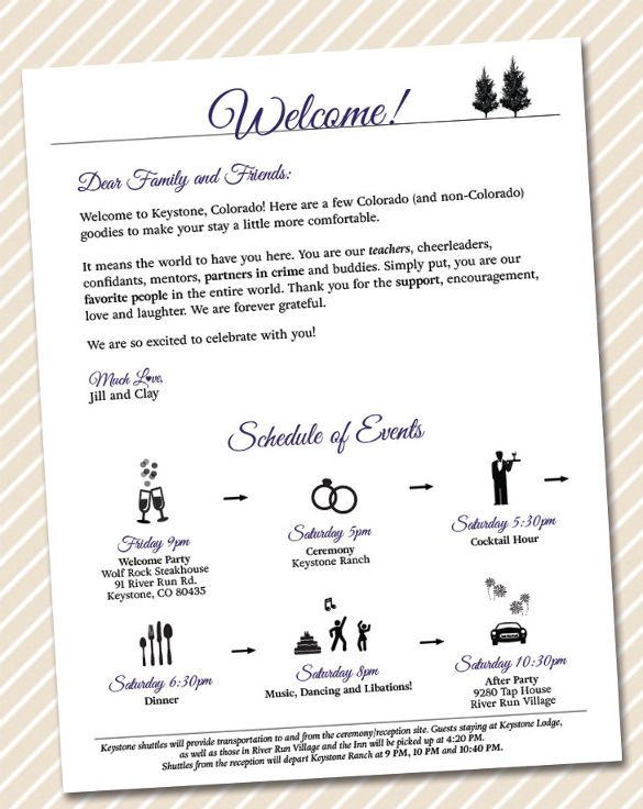 Printable Wedding Welcome Letter Instant Download Destination Wedding Welcome Bag Card Wedding Welcome Letters Welcome To Our Wedding Wedding Welcome Bags