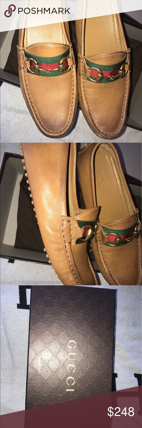 Kids Gucci loafers leather upper loafers 👞 GUCCI KIDS LEATHER LOAFERS 👞  brand new/ size 34 euro. In kids Like a 4 in USA.  Perfectly fine NEW. NEVER USED.🏷💸 Final Price 👍  Shipping 1 day! 📦📬 Make a bundle of 3+ to get 10% off your purchase !  Contact: for any further questions. Leave a comment. I will get back to you.  Thank You. ❤️ #airelavStyle #boutique #kids Gucci Shoes Moccasins