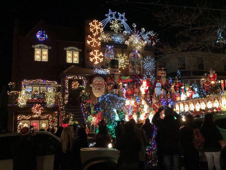 Visiting Dyker Heights Christmas Lights Christmas lights