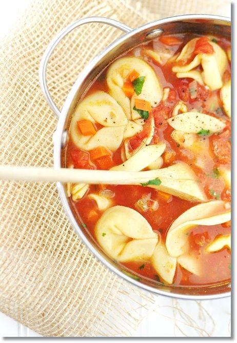 Paleo Tortellini Soup