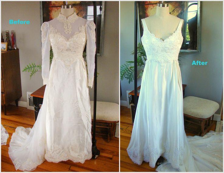 80 best old bridal gowns redone images on pinterest short wedding wedding dress 1970 something to wedding dress 2014 solutioingenieria Gallery