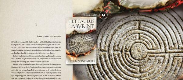 Een archeologisch mysterie in Leiden moest opgelost worden in de thriller 'Het Pauluslabyrint' van Jeroen Windmeijer. Op Hebban lees je al een Sneak Preview van deze historische thriller. Intussen gelezen leert een hoop over Leiden maar ook over de Apostel Paulus en de ander geloven.