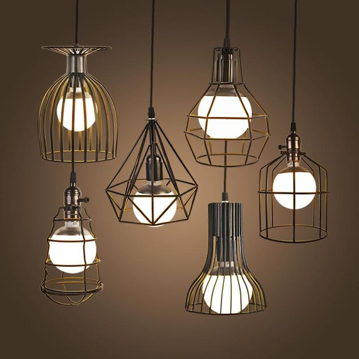 NEW Vintage Iron Pendant Light Industrial Loft Retro Droplight Bar Cafe Bedroom Restaurant American Country Style Hanging Lamp-in Pendant Lights from Lights & Lighting on Aliexpress.com | Alibaba Group