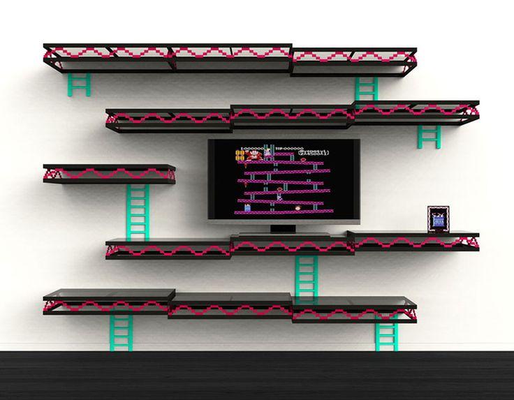 Tag re donkey kong de igor chak deco geek le site for Decoration maison geek
