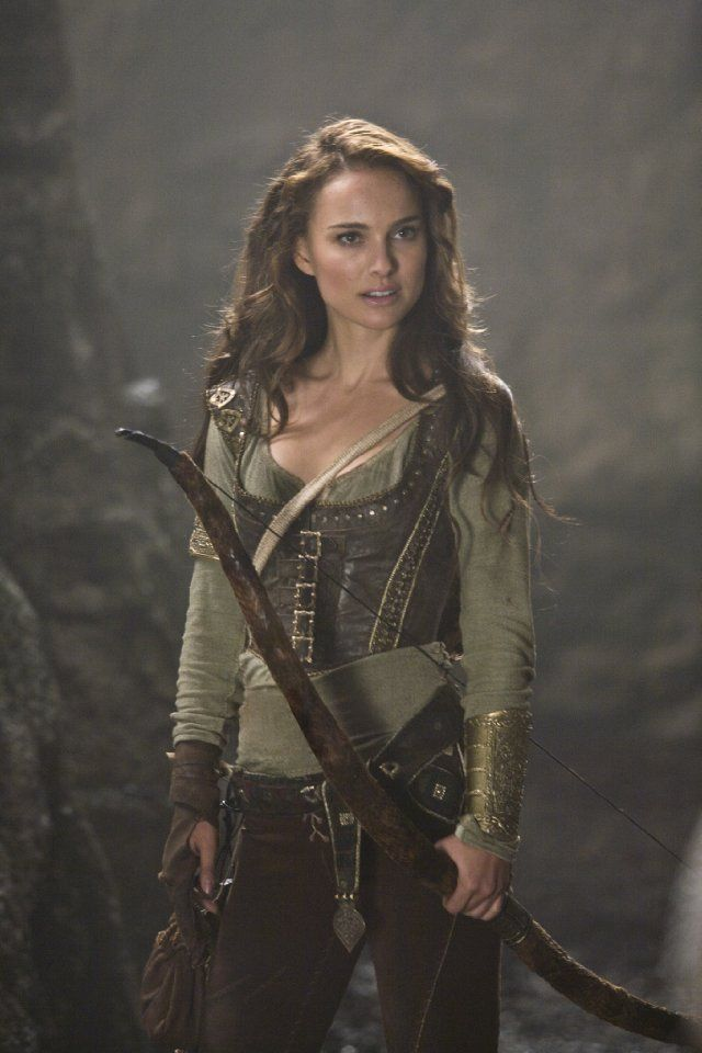 Natalie Portman. Haven't watched this movie but I like this costume idea.