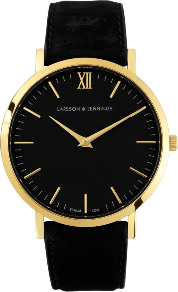 Could never afford this larson and jennings watch. Nevertheless I love the sleek design and black/gold mix!