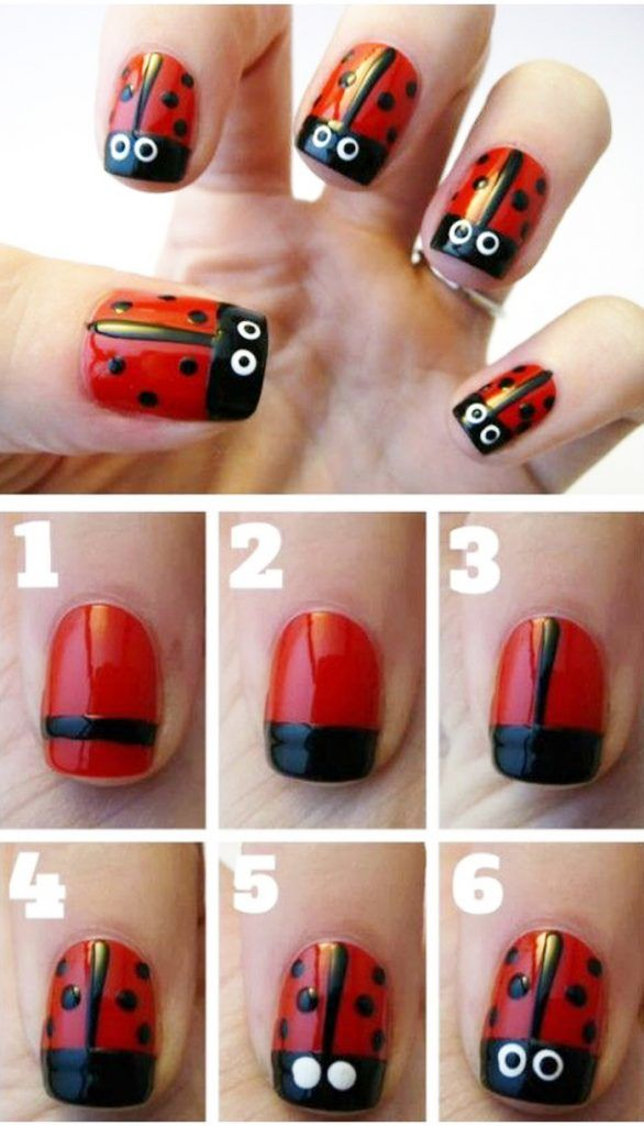Easy And Simple Steps Nails Arts New Designs Ideas 3 Easy And Simple